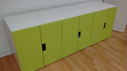 green cabinets 1/2