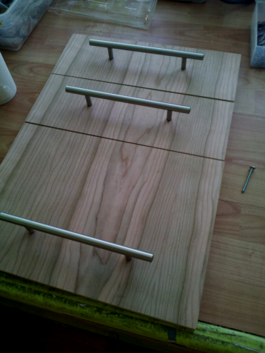 drawer fronts 1/4