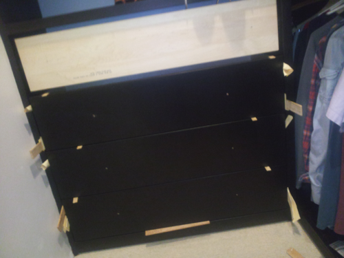 drawer boxes 3/4